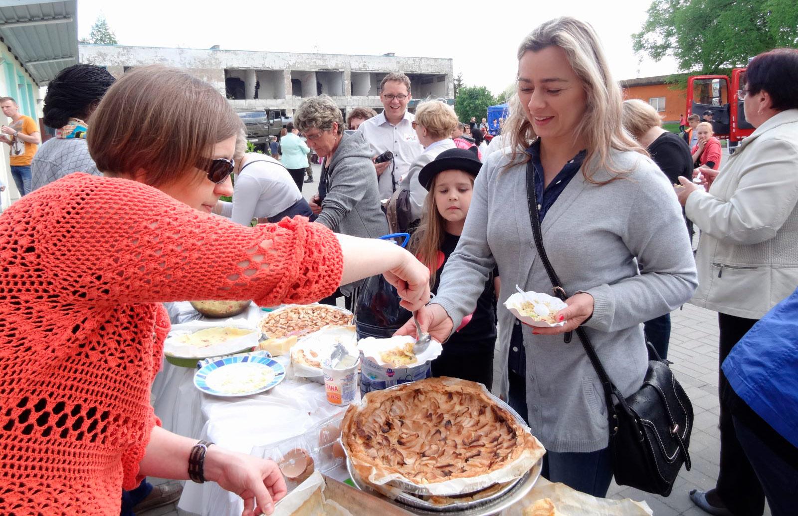 Dzień francuski w Bezledach, gotowanie przysmaków