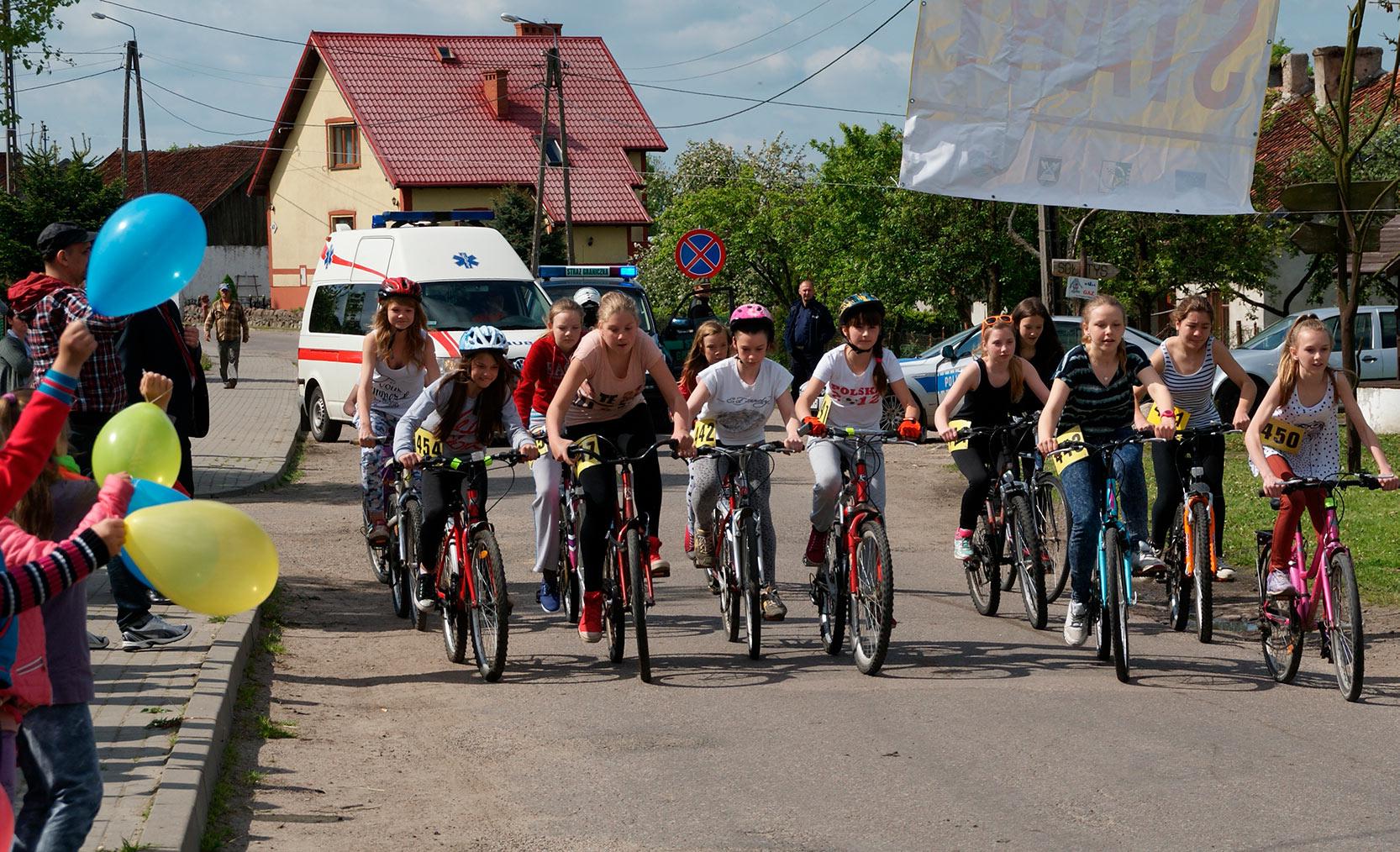 Start wyścigu MiniTour de France, Bezledy